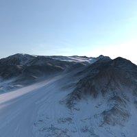 3D land model