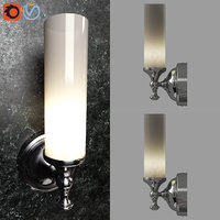 mercer single tube sconce 3D model