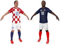 soccer player france model