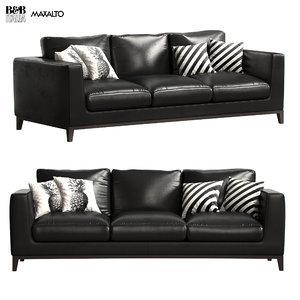 maxalto sofa lutetia 3D model