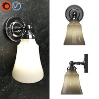3D sussex single sconce