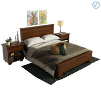 3D sumatra valencia bedroom model