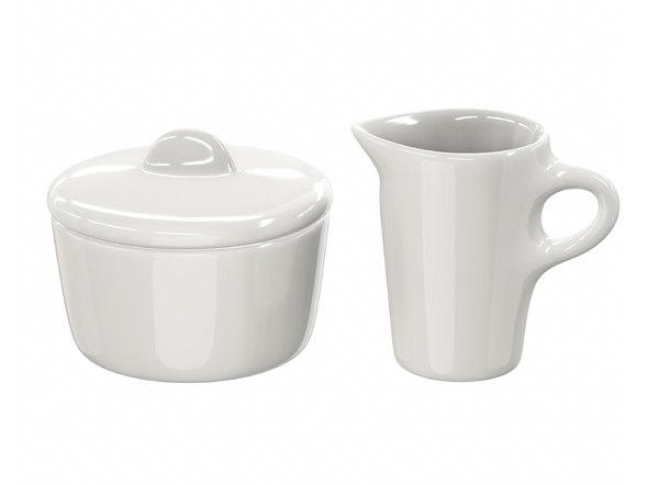 sugar box jug 3D model
