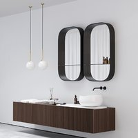 Bathroom furniture Ceramica Cielo DELFO