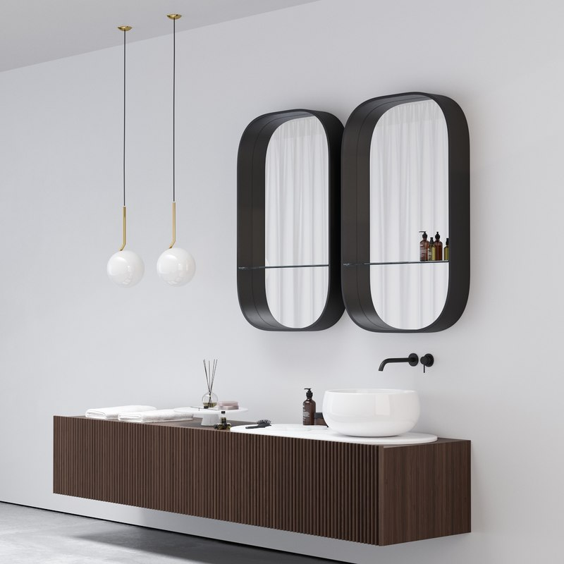 3D washbasin le bacinelle