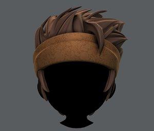 3D hair style boy v25