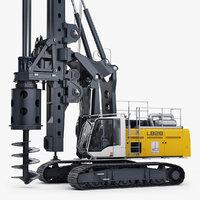 liebherr lb 28-320 drilling rig 3D