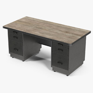 sv tanker desk 3D model