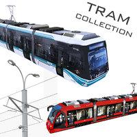3D tram road