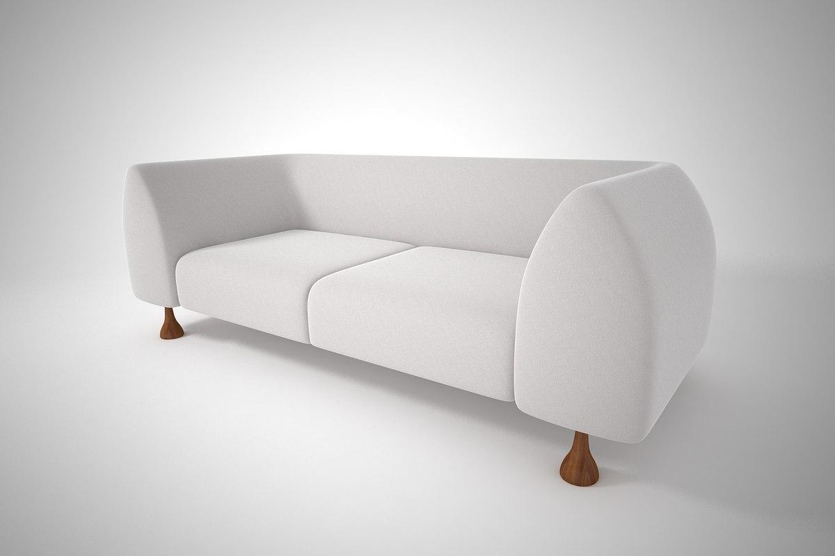 furnishings sofa 3D model