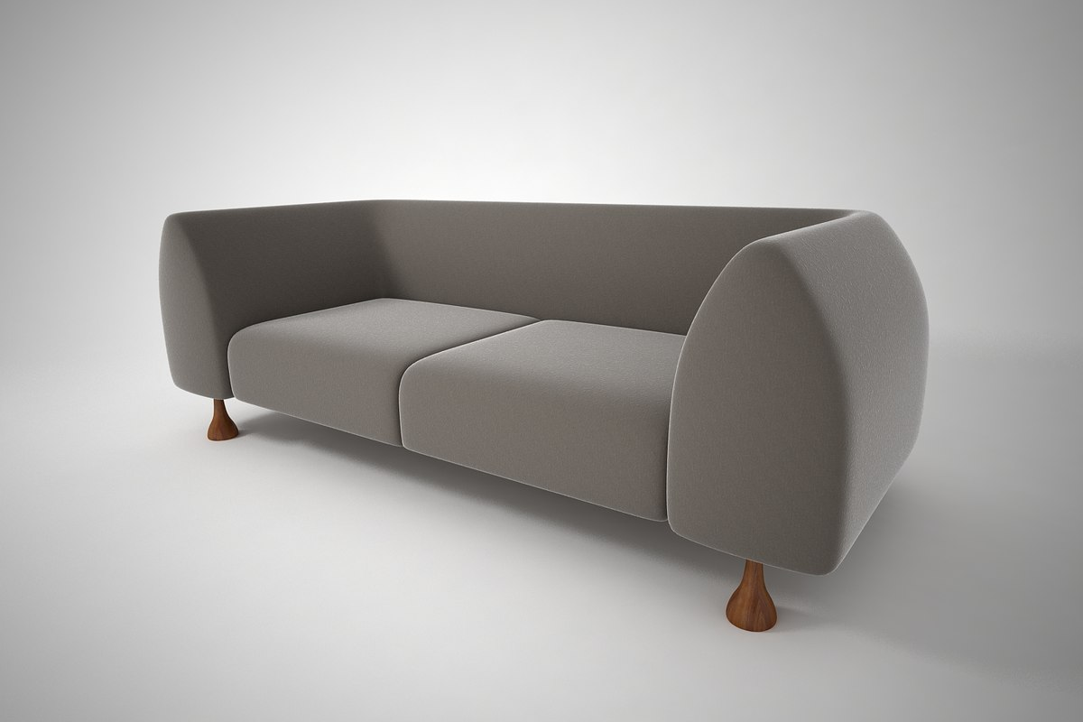 furnishings sofa 3D model