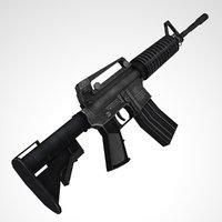 m4 gun 3D model