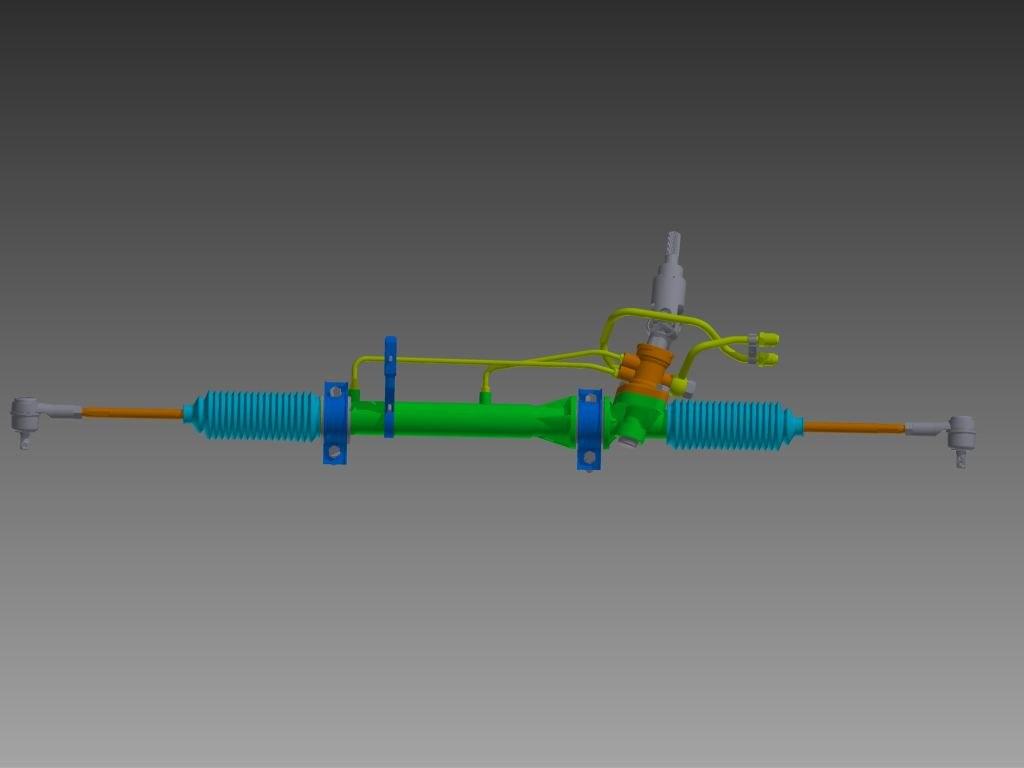 3D steering model