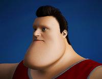 3D toon guy