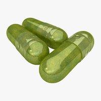 3D moringa capsules