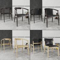 3D model chair jens set