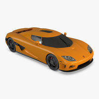 koenigsegg ccx car 3D model
