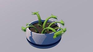 carnivore plant 3D model