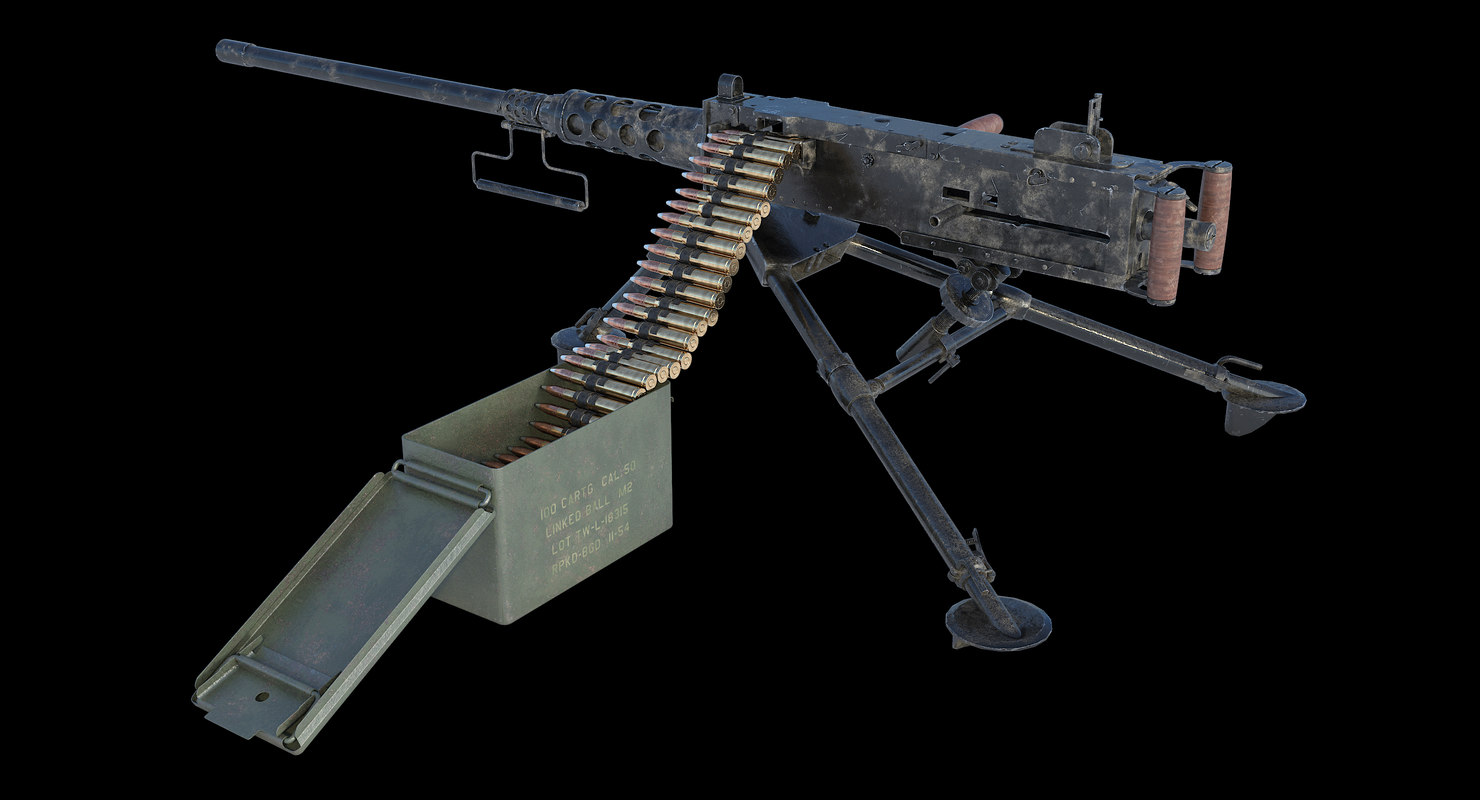 3D m2 browning