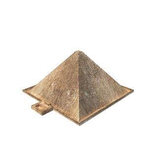 3D pyramid cheops model