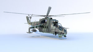 russian helicopter 3D