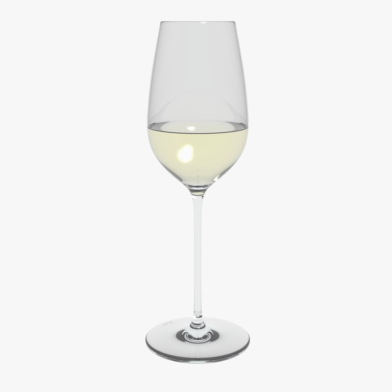 3D glass riedel superleggero riesling
