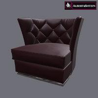 armchair folio 3D model