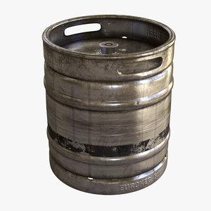 beer keg model