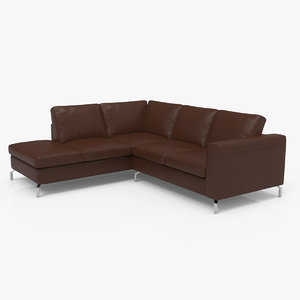 3D vara chaise sectional