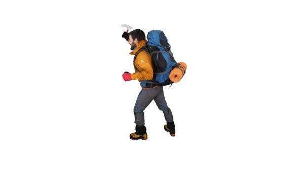 climber mountain gear 3D model