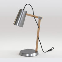 3D desk lamp 01
