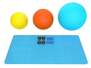 fitness equipment weights 3D model