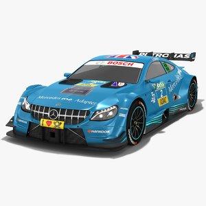 3D mercedes-amg c63 dtm season model