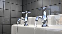 water faucet 3D model