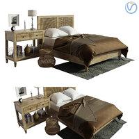 sausalito selena bedroom 3D model