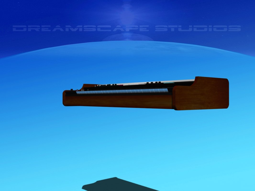 vp-330 vocoder 3D model