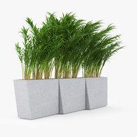 3D twista planter modern model