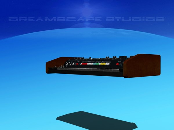 promars synth 3D model