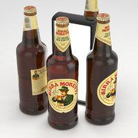 3D model beer birra