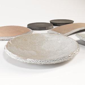 corona japanese tableware 3D