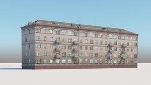 city building 3D model