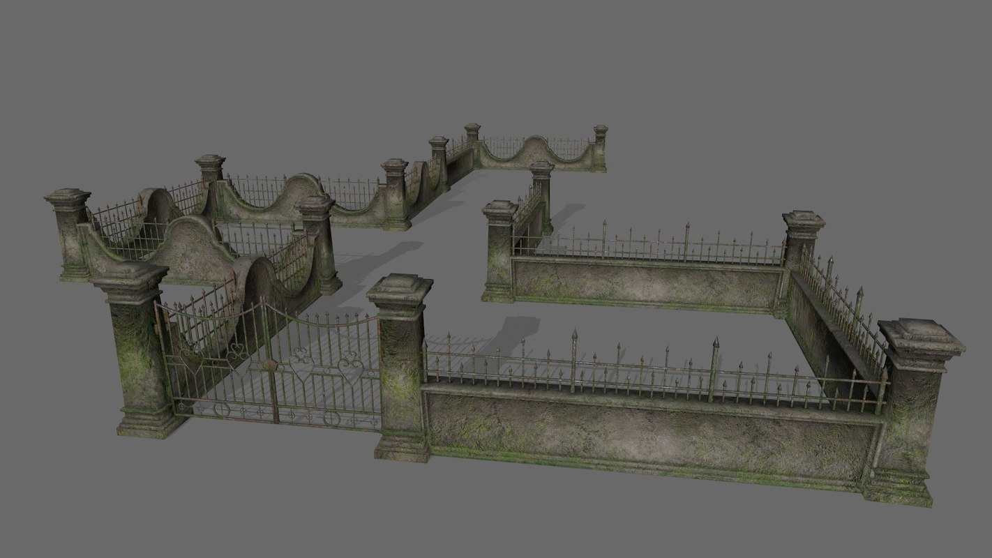 gate wall 3D