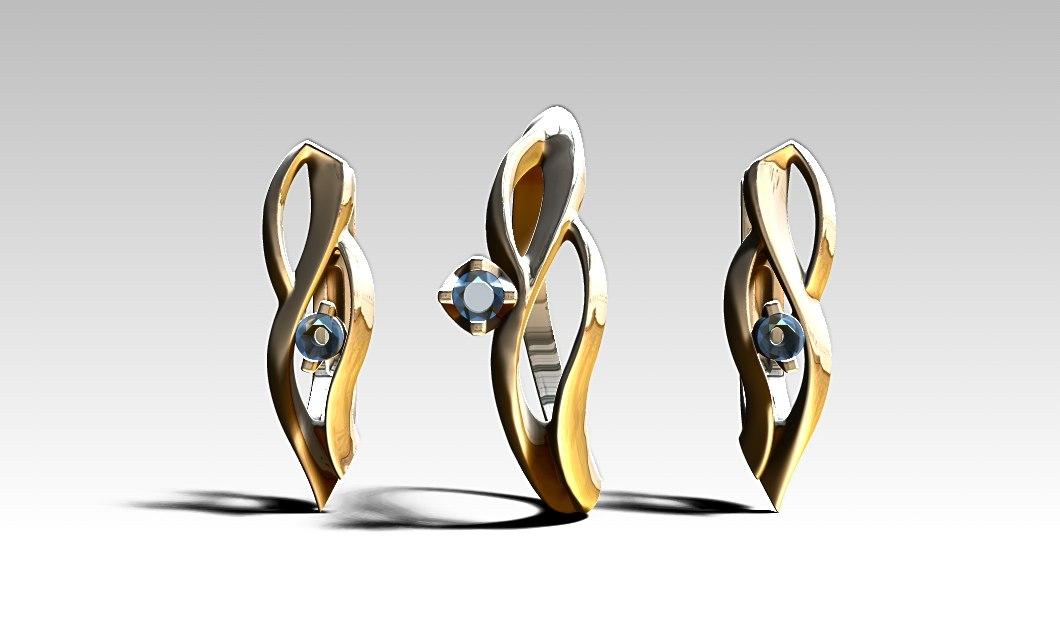 3D ring grow garden