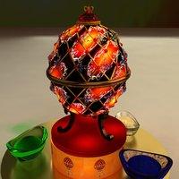 chinese gold ingot egg model