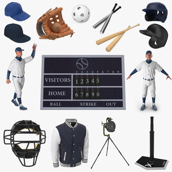 baseball 8 ball 3D model