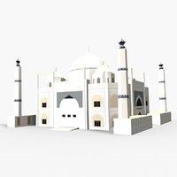 siddiqa fatima zahra mosque 3D
