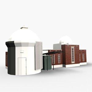 3D space place carter observatory model