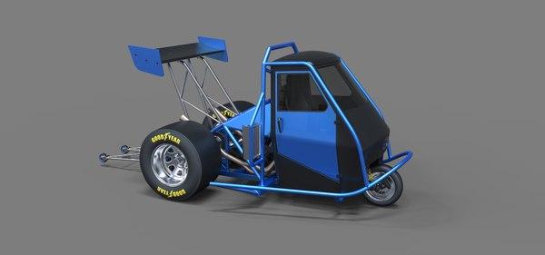 3D ape car drag