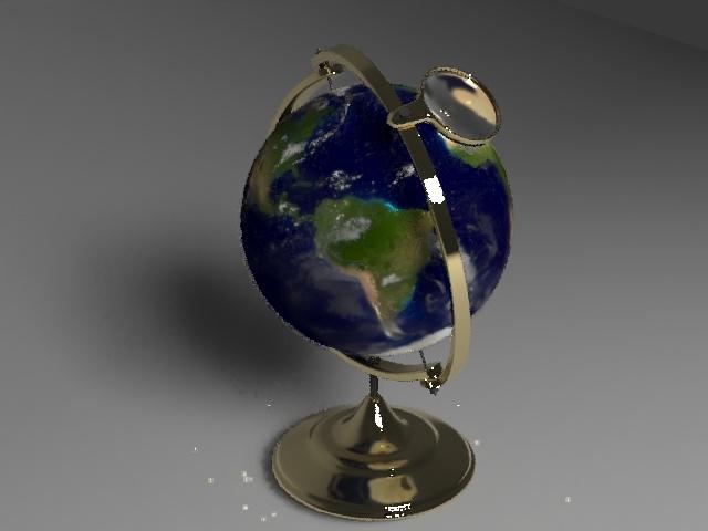 3D globe earth