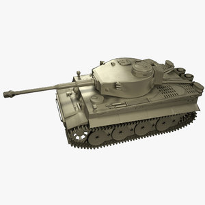 tiger tank 3D